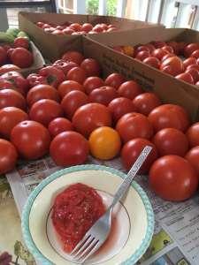 Fresh Home Grown Tomatoes