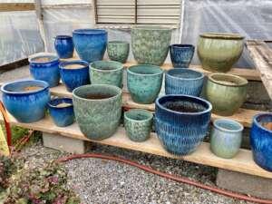 decorative ceramic pottery